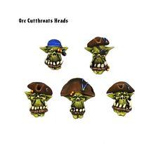 Kromlech BNIB Orc Cutthroats Heads