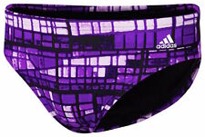 ADIDAS Performance Men's Swimwear Infinitex Stained Glass Swim Brief Size 30