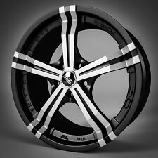 4 neue Alu OZ Power black polish 8x18, 5/112, ET48, Mercedes C-Klasse 204 204K