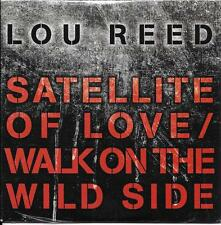 CD CARDSLEEVE 2T LOU REED SATELLITE OF LOVE / WALK ON THE WILD SIDE NEUF SCELLE