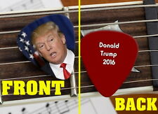 Set of 3 Donald Trump For President 2016 premium Promo Guitar Pick Pic