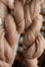Merino Wool Top Roving Mocha 1 oz