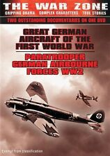 C1 BRAND NEW SEALED The War Zone - Great German Aircraft Of WW1  Paratrooper DVD