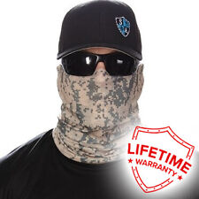 MOTORCYCLE FACE MASK - DIGITAL CAMO - (Moto, Hunting, Fishing, Paintball)