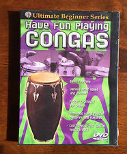 Ultimate Beginner Series - Have Fun Playing Congas, DVD