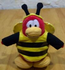 "Disney Club Penguin BUMBLE BEE PENGUIN 7""  Plush STUFFED ANIMAL Toy"