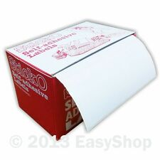 Retail Self Adhesive Sticky White Postage Address label roll 89 X 36mm in Box