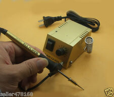 RCA plug Mini 220V SOLDERING IRON STATION for DIP IC ICs SMD SMT Soldering work