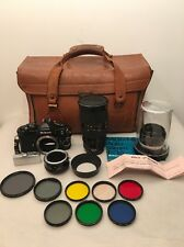 Vintage Nikon FM Black 35mm Camera Lot