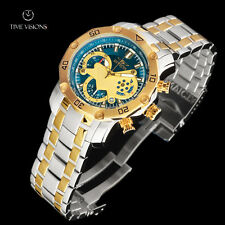 Invicta Men's 48mm Pro Diver Scuba 3.0 Chronograph 2-tone Bracelet Watch 22762