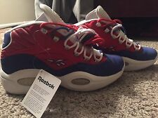 Allen Iverson Questions Red Banner Size 12