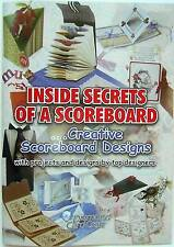 Cardmaking project Book 35 projects step by step scoring board- SALE PRICE £5.00