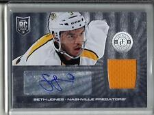 Seth Jones 13/14 Totally Certified Autograph Game Used Jersey Rookie