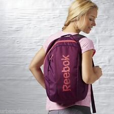 Reebok Essentials Backpack School Gym College Sports Bag Girls Womens Rucksack