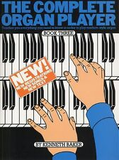 The Complete Organ Player Learn to Play Beginner Lesson Tutor Music Book 3