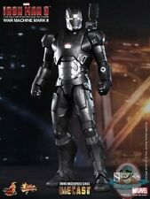 1/6 Scale Iron Man 3: War Machine Mark II Diecast Movie Masterpiece Hot Toys