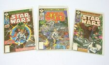 Marvel Comics Group Star Wars Issues #1, #2, #3 1977 Reprint of a 1977