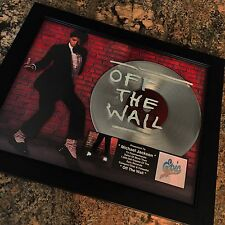 Michael Jackson Off The Wall Platinum Record Album Disc Music Award MTV RIAA
