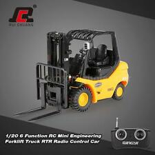 RUICHUANG 1/20 6 Function RC Mini Engineering Forklift Truck RTR Car R5M9