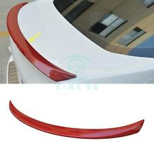 Red ABS Stoving varnish no punch Wing Spoiler for Ford Focus 2015-2017