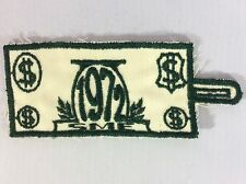 1972 SME pocket patch Sustaining Membership Enrollment / FOS Friends of Scouting