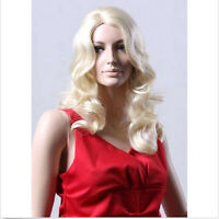 Ladies Long Blonde Wigs in Wavy Style Premium Quality Forever Young Cosplay Wig