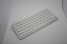 White Bluetooth Wireless Keyboard for PC Macbook Mac ipad iphone