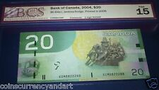 8822288  RADAR 2- DIGIT  Bank of Canada 2004  $20