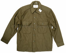 CANADIAN ARMY WOOL SHIRT - MEDIUM - HEAVY DUTY - NEW - 750GN