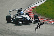 Josh Hill Hand Signed 12x8 Photo Son of Damon Hill F1 2.