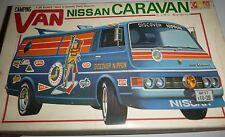 GUNZE SANGYO CARAVAN NISSAN CAMPING VAN MODEL CAR MOUNTAIN 1/24 RARE