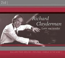 Richard Clayderman-Love Me Tender DOUBLE CD