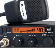 1001LWX  Midland compact 40 Channel CB Radio With Weather Scan 7.25 x 4.5 x 1.75