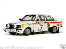 FORD ESCORT MKII RALLY NO7 WRC 1:18 RARE DIECAST MODEL SUPERB BOXED SUN STAR