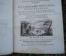 1787 Cours d'agriculture théorique, pratique, économique et de médecine rurale..