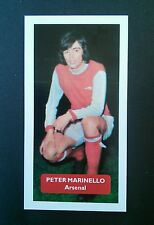 ARSENAL - PETER MARINELLO - Score UK football trade card