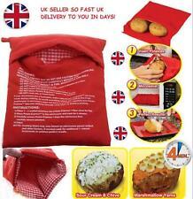 Giacca patate al forno a microonde Cottura della Patata Borsa 4 minuti Express Riutilizzabile