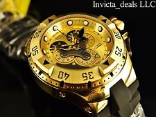Invicta Reserve Excursion Master Calendar 18K Gold Tone Swiss Made Chrono Watch