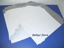 10 MAILER 14.5 x 19 WHITE POLY BAGS MAILING SHIPPING PLASTIC ENVELOPES 2.5 MIL