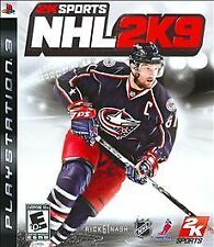 PS3 2K Sports NHL 2K9 Video Game DISC ONLY Multiplayer Online League Play 2009