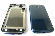 Samsung Galaxy S3 Core i8262 i8260 Fascia Housing Back Door Battery Cover Blue