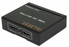 ViewHD 2 Port 1x2 Powered HDMI Mini Splitter for 1080P & 3D | Model: New