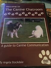 Canine Chatroom A Guide to Canine Communication RARE dogs DVD Stockdale Angela