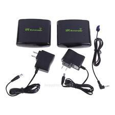 Wireless IR Remote Extender Wireless Infrared Transmit Box 200m PT433 Black NEW