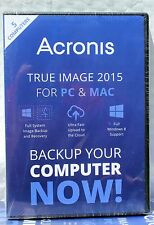 Acronis True Image 2015 For PC & Mac 5 Devices Backup & Recovery for windows