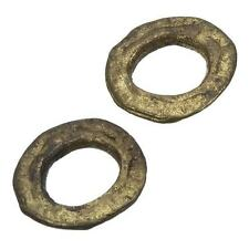 Flat Donut Antique Gold Ring Link Connector 23mm Pack of 2 (C84/19)