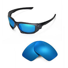 New Walleva Polarized Ice Blue Replacement Lenses For Oakley Scalpel Sunglasses