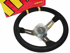MOMO Steering Wheel - Mod Drift (330mm/90mm Dish/Suede/Silver Spoke)