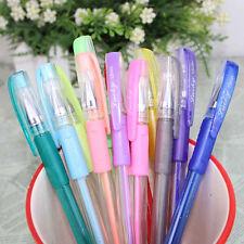 1 Set 12 colors Gel Pen Glitter Pens Asst Scrapbooking Crafter DIY Gift Card New