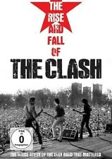 THE CLASH - THE RISE AND FALL OF THE CLASH  DVD NEU